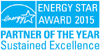 Energy Star, Energy Star Award 2015, Partner of the Year, Sustained Excellence