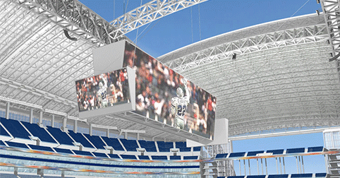 Dallas Cowboys stadium roof