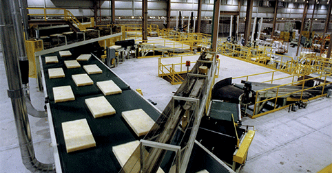 Kansas City fiber glass insulation line