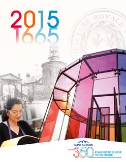 cover, corporate brochure