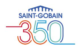 Saint-Gobain 350th logo