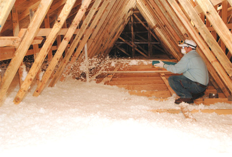 CertainTeed's InsulSafe blowing insulation