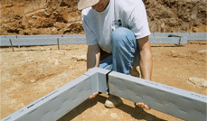 CertainTeed Form-A-Drain foundation footing and drainage system