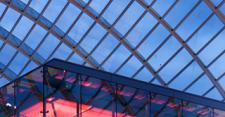 SageGlass electrochromic glass at the Kimmel Center in Philadelphia